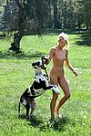 Slim nude girl