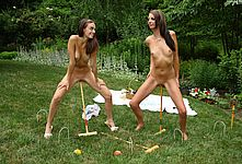 Innocent naked girls