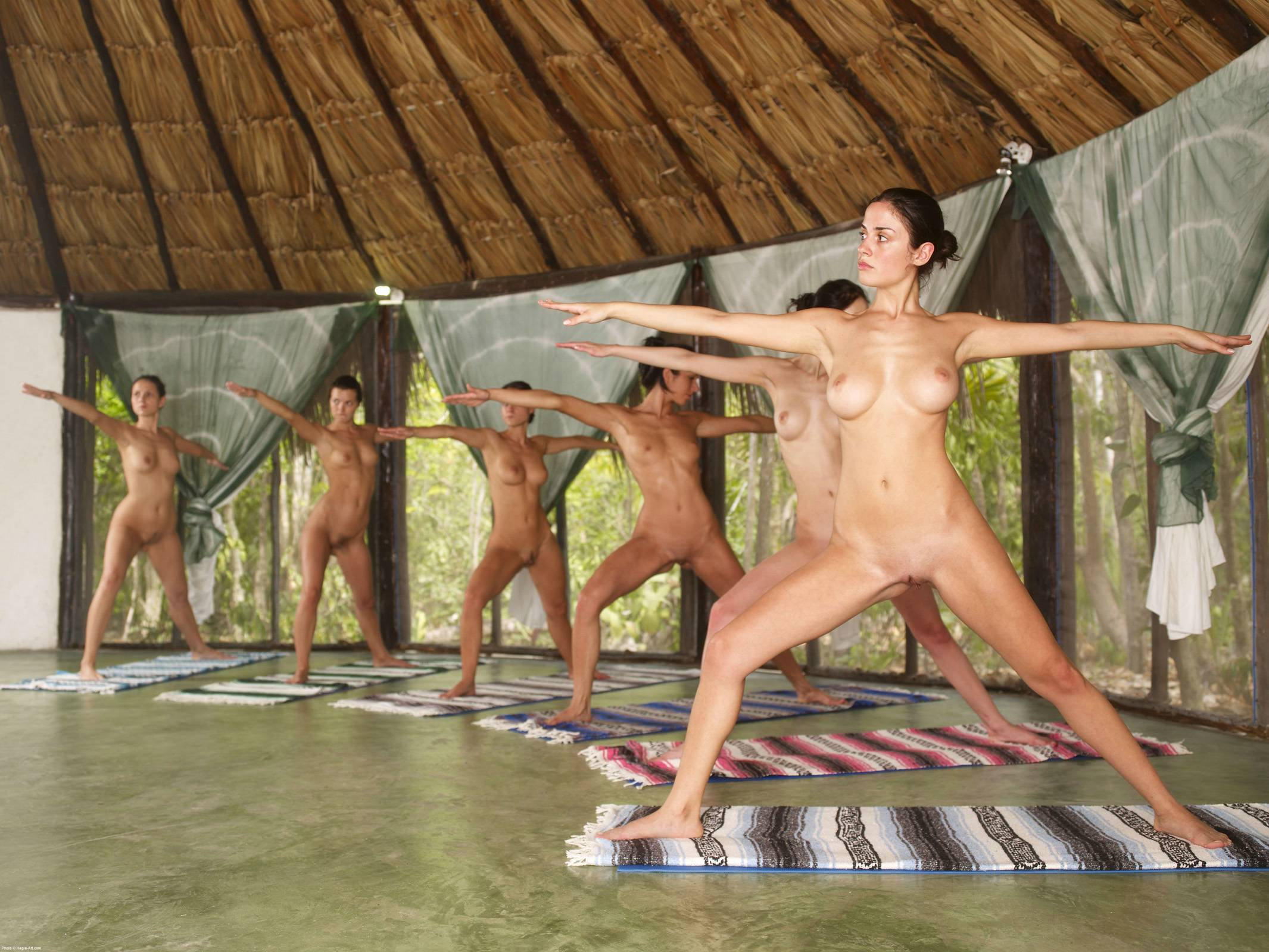 Nude yoga movie xxx images