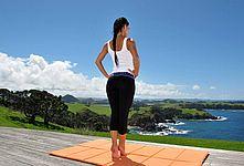 Nude yoga