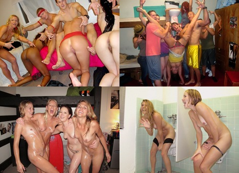 Outrageous Orgy Party Girls group : naked girls