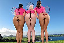 Naked Girls Badminton