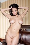 Big tits hot brunette