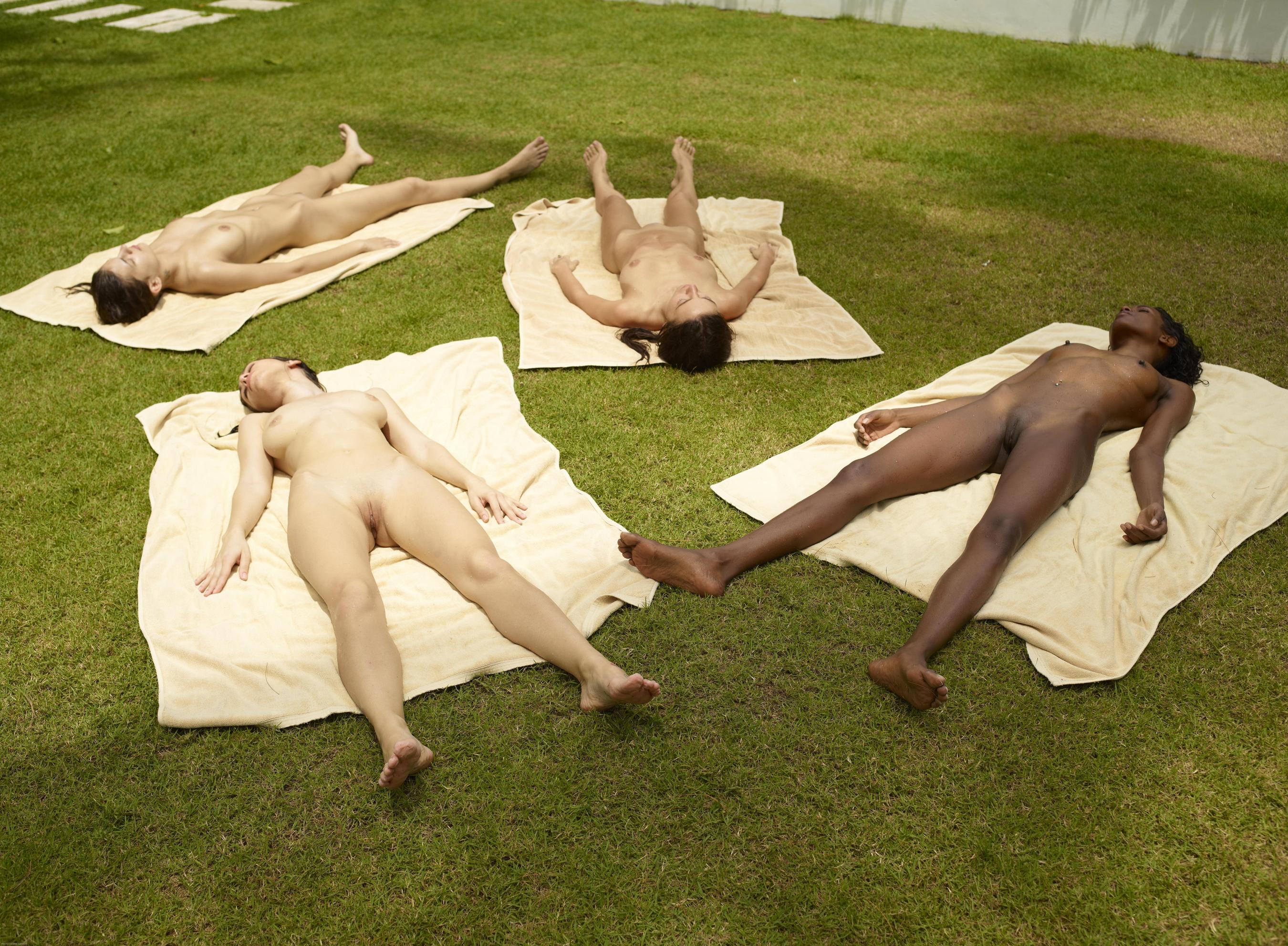 nude girls toying boys