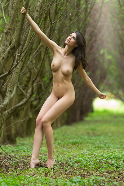 Woman Naked Outdoors 57