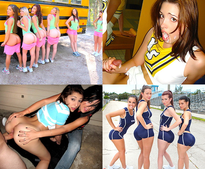 CHEERLEADER GIRLFRIENDS!