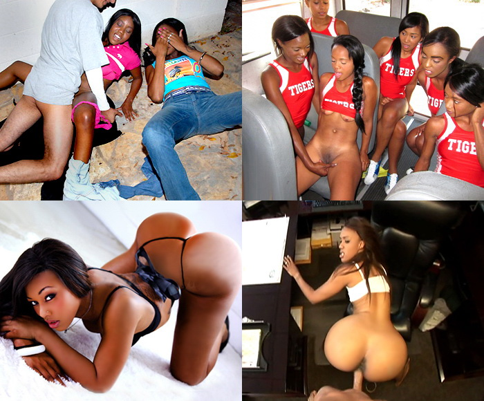 HOMEMADE SEXTAPES WITH EBONY GIRLFRIENDS